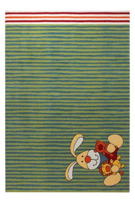 KINDERTEPPICH  133/200 cm  Blau, Grün, Orange, Rot - Blau/Rot, Design, Textil (133/200cm) - Sigikid