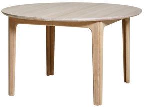 MATBORD - vit/ekfärgad, Design, trä (130/74cm) - Skovby