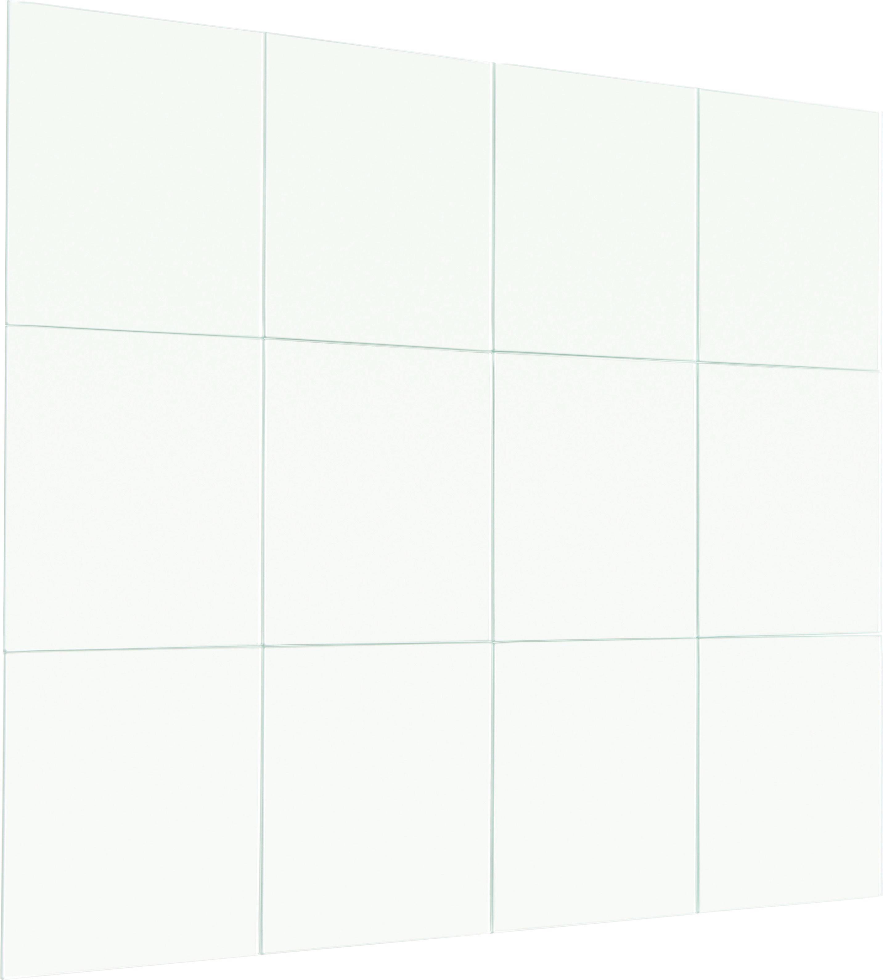 SPIEGEL - Silberfarben, KONVENTIONELL (15/15/0,3cm) - BOXXX