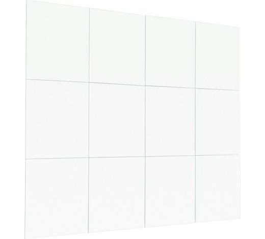 ZRCADLO, čtvercové - barvy stříbra, Konvenční (15/15/0,3cm) - Boxxx