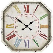 WANDUHR 60 cm - Multicolor, LIFESTYLE, Glas/Holz (60cm) - Ambia Home