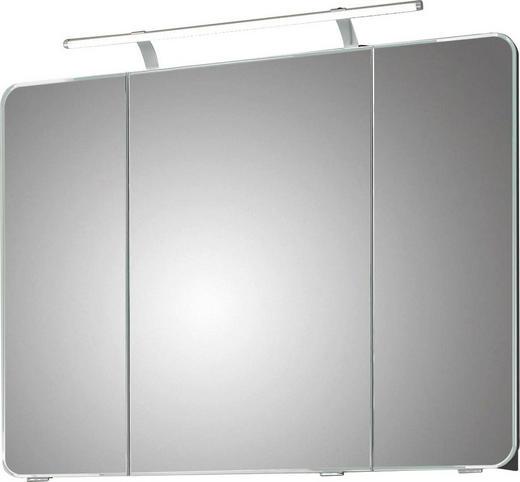 SPIEGELSCHRANK Grau - Grau, KONVENTIONELL, Glas/Holzwerkstoff (90/72/17cm) - Xora