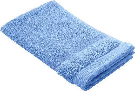 GÄSTETUCH - Blau, Natur, Textil (30/50cm) - Bio:Vio