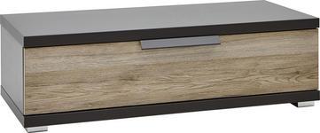 KOMMODE 96/29/42 cm - Chromfarben/Eichefarben, KONVENTIONELL, Holzwerkstoff/Kunststoff (96/29/42cm) - Voleo