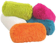 KISSENROLLE 19/43 cm - Pink/Petrol, Trend, Textil (19/43cm) - Boxxx