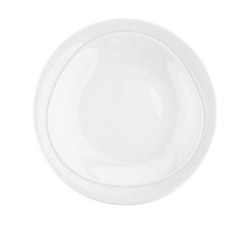 SUPPENTELLER 23 cm - Weiß, KONVENTIONELL, Keramik (23cm) - Seltmann Weiden