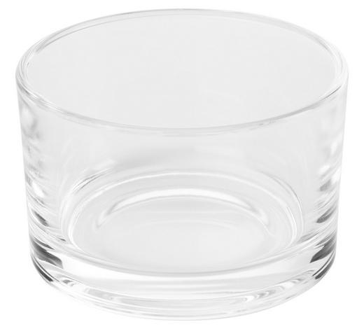 SVÍCEN NA ČAJOVOU SVÍČKU - čiré, Basics, sklo (8/5cm) - Ambia Home