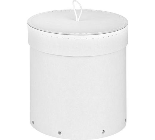 KARTONAGE  - Weiß, Basics, Karton (19/19.5cm)