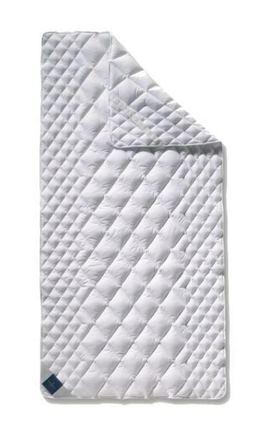 KOMFORTAUFLAGE 90/200 cm - Weiß, Basics, Weitere Naturmaterialien (90/200cm) - BILLERBECK