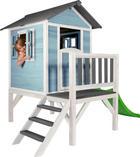 Sunny Spielhaus Lodge XL - Blau/Weiß, Basics, Holz (260/190/167cm)