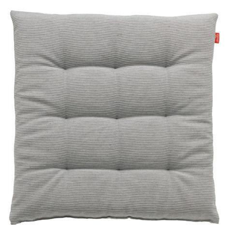 STUHLKISSEN Grau 40/40/5 cm - Grau, Basics, Textil (40/40/5cm) - ESPRIT