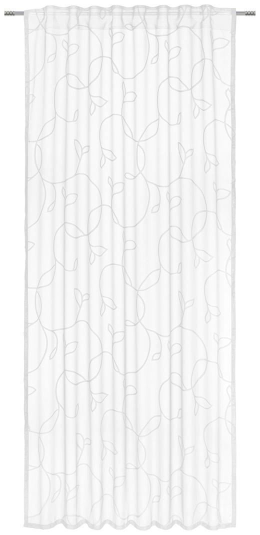 FERTIGVORHANG  halbtransparent  140/245 cm - Weiß, Design, Textil (140/245cm) - Esposa