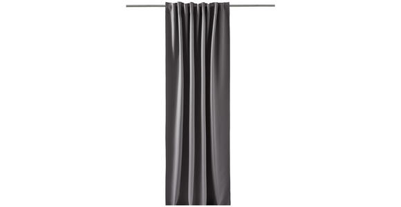 FERTIGVORHANG Verdunkelung  - Dunkelgrau, Basics, Textil (140/300cm) - Esposa