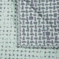 DECKE 130/200 cm - Mintgrün, Design, Textil (130/200cm) - David Fussenegger
