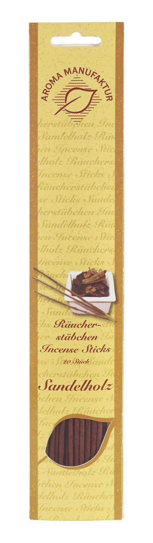 RÄUCHERSTÄBCHEN SANDELHOLZ - Hellbraun, Basics, Holz (32/6,5/0,5cm)