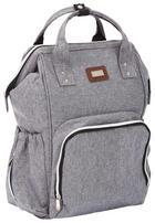PŘEBALOVACÍ BATOH - šedá, Basics, textilie/umělá hmota (48/27/14cm) - My Baby Lou