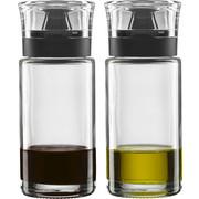 ESSIG-/ÖLFLASCHE - Klar/Schwarz, Basics, Glas (11,9/14,8/61cm) - LEONARDO