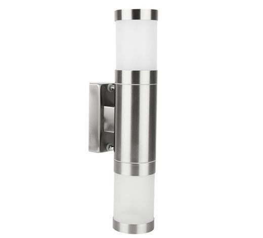 AUßENWANDLEUCHTE Klar - Klar, Design, Glas/Kunststoff (6/10,4/30,3cm) - Ambia Garden