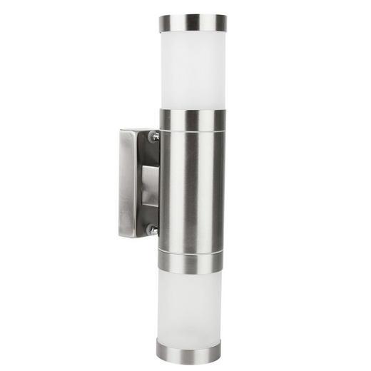 AUßENWANDLEUCHTE - Klar, KONVENTIONELL, Glas/Kunststoff (6 10,4 30,3cm) - Ambia Garden