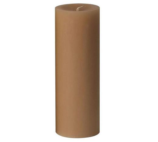 STUMPENKERZE 6,8/20 cm - Beige, Basics (6,8/20cm) - Steinhart