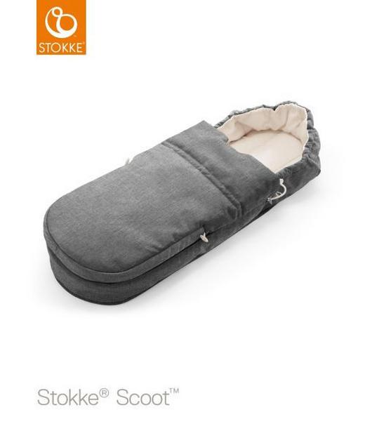 STOKKE SCOOT SOFTBAG - grå, Design, ytterligare naturmaterial/textil (85/30/13cm) - Stokke