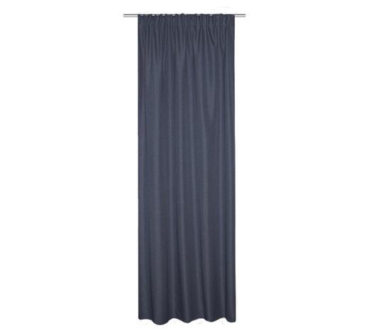 LÄRMSCHUTZVORHANG - Blau, KONVENTIONELL, Textil (135/245cm)