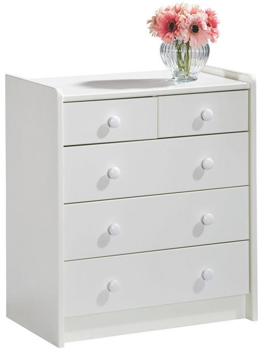 KOMMODE Weiß - Weiß, Design, Holz (64/72/38cm) - CARRYHOME