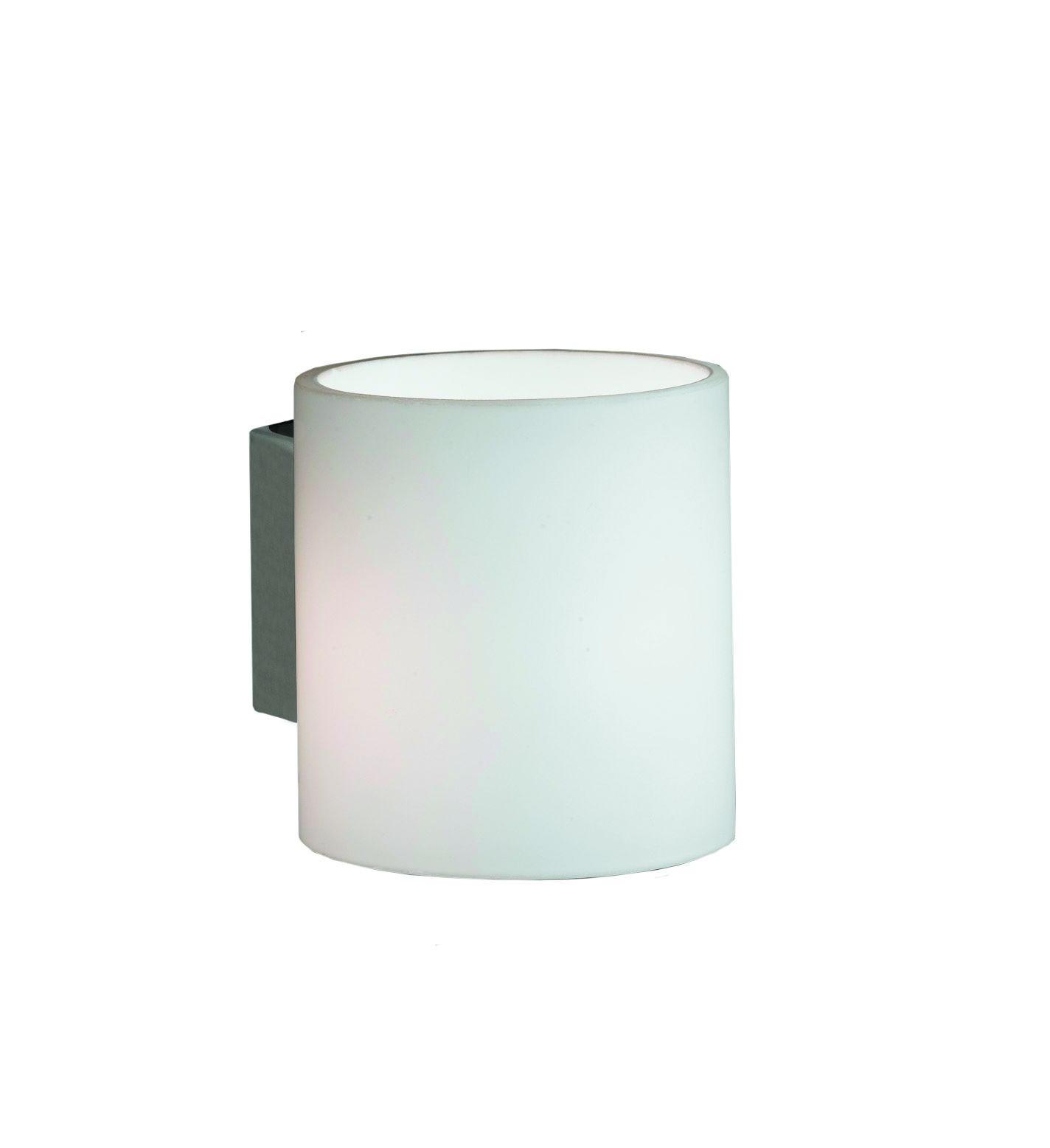 WANDLEUCHTE - Weiß, KONVENTIONELL, Metall (8/9/10cm)