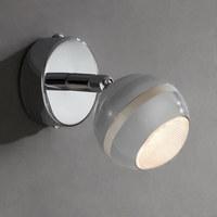 LED-STRAHLER - Chromfarben, Basics, Metall (8cm) - Novel