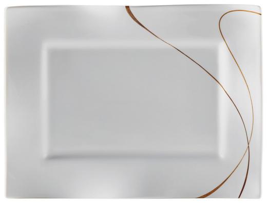 FAT, 22/30 CM - vit/brun, Design, keramik (30/22/2cm) - RITZENHOFF BREKER