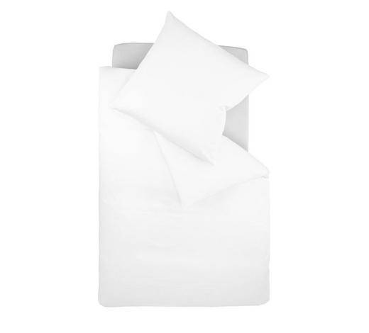Bettwäsche-Garnitur 200 x 200 Makosatin Weiß 200/200 cm - Weiß, Basics, Textil (200/200cm) - Fleuresse