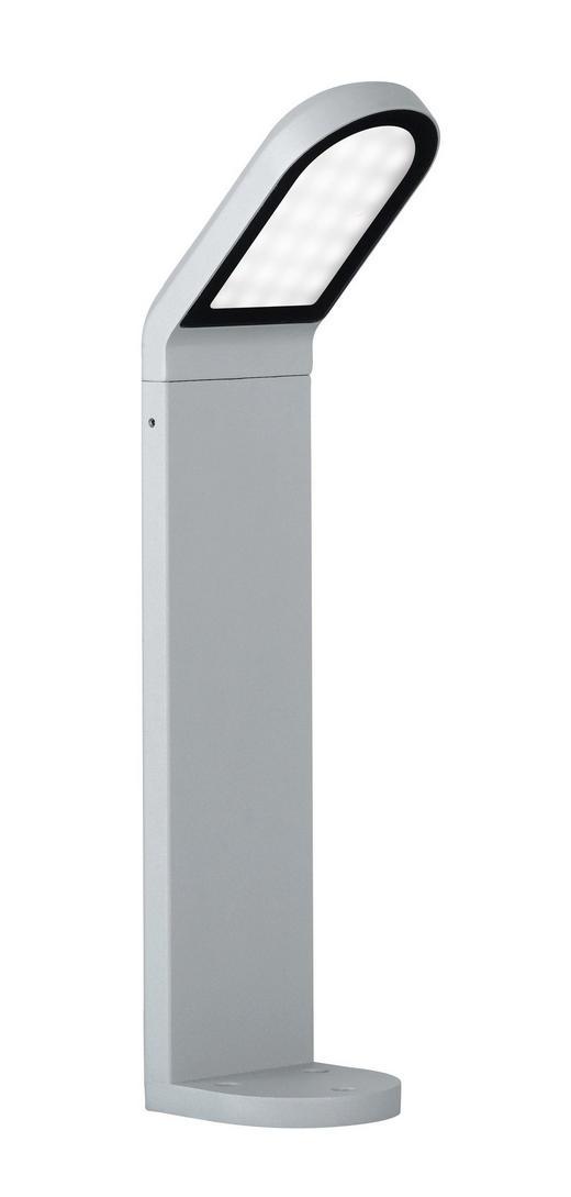 SOCKELLEUCHTE - Grau, Design, Metall (50/10,4/15,5cm)