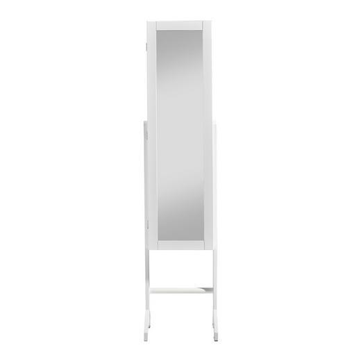 SCHMUCKSCHRANK - Weiß, Design, Glas (35,2/153/35cm) - Xora