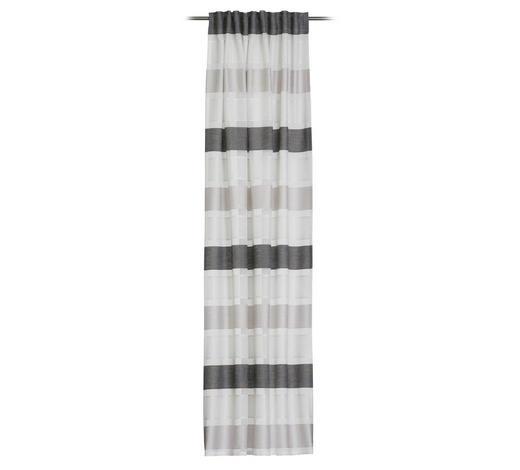 FERTIGVORHANG  halbtransparent   140/245 cm - Schwarz, Design, Textil (140/245cm) - Esposa