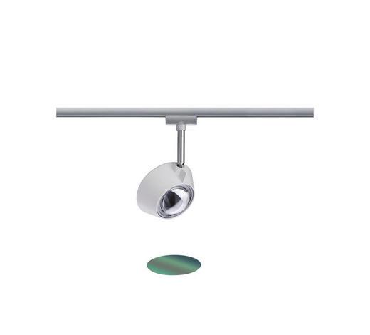 SCHIENENSYSTEM - Chromfarben/Weiß, Basics, Kunststoff/Metall (22,5cm)