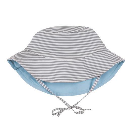 HUT - Hellgrau/Weiß, Basics, Textil (37,5/0,5/20,5cm) - Lässig