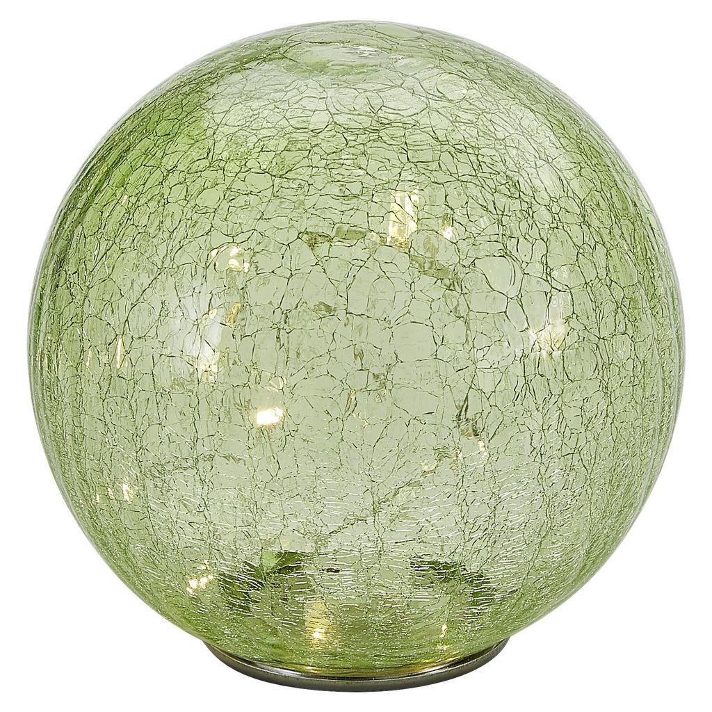Beleuchtete Glaskugel