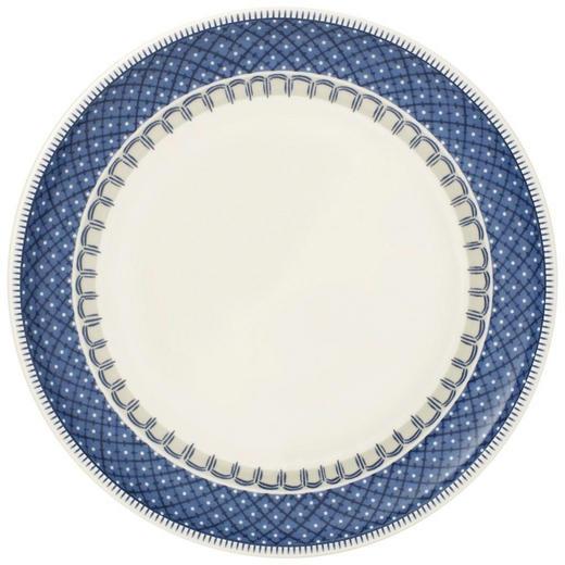SPEISETELLER Keramik Fine China - Blau/Creme, Basics, Keramik (27cm) - Villeroy & Boch