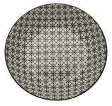 SUPPENTELLER Porzellan  - Schwarz/Weiß, Trend, Keramik (20,3cm) - Novel