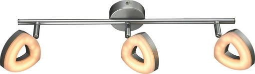 LED-STRAHLER   - Silberfarben, Design, Kunststoff/Metall (51/9/15cm) - Boxxx