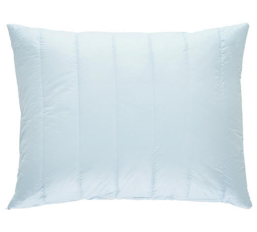 KOPFPOLSTER 70/90 cm  - Hellblau, Basics, Textil (70/90cm) - Billerbeck