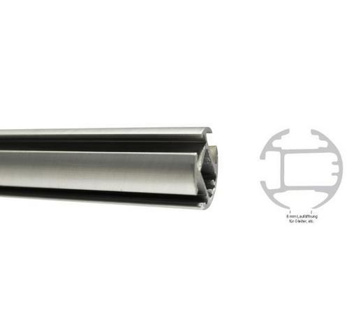 INNENLAUFSTANGE 240 cm - Edelstahlfarben, Basics, Metall (240cm) - Homeware