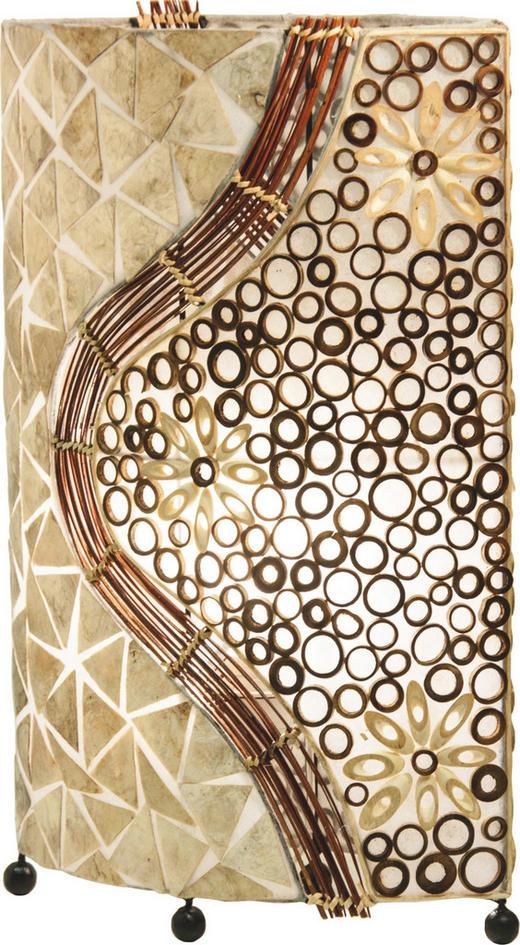 TISCHLEUCHTE - LIFESTYLE, Textil/Weitere Naturmaterialien (34 16 50cm)