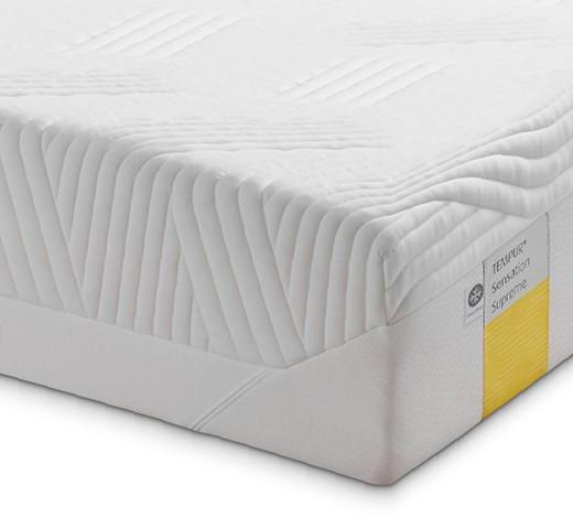 MATRATZE SENSATION SUPREME 90/200 cm - Weiß, Basics, Textil (90/200cm) - Tempur