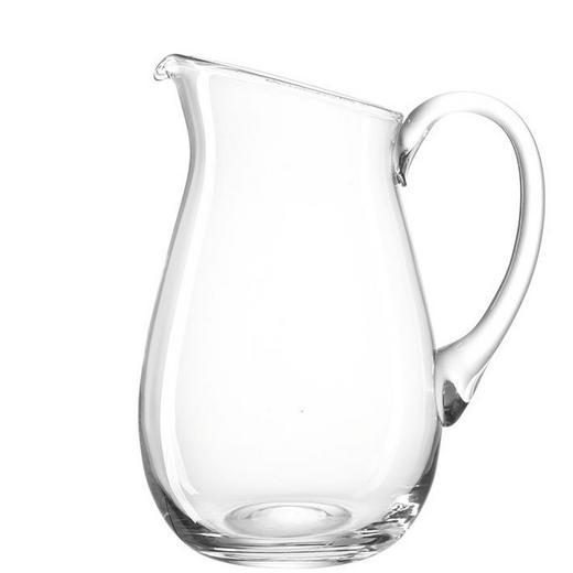 GLASKRUG 3 L - Klar, KONVENTIONELL, Glas (23,50 29,00 18,00cm) - Leonardo