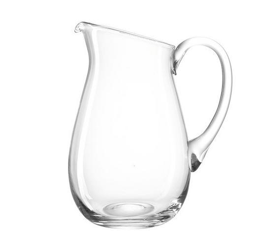 GLASKRUG 3 L - Klar, KONVENTIONELL, Glas (23,50/29,00/18,00cm) - Leonardo