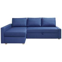 SJEDEĆA GARNITURA - siva/plava, Moderno, drvni materijal/drvo (226/156cm) - Ti`me