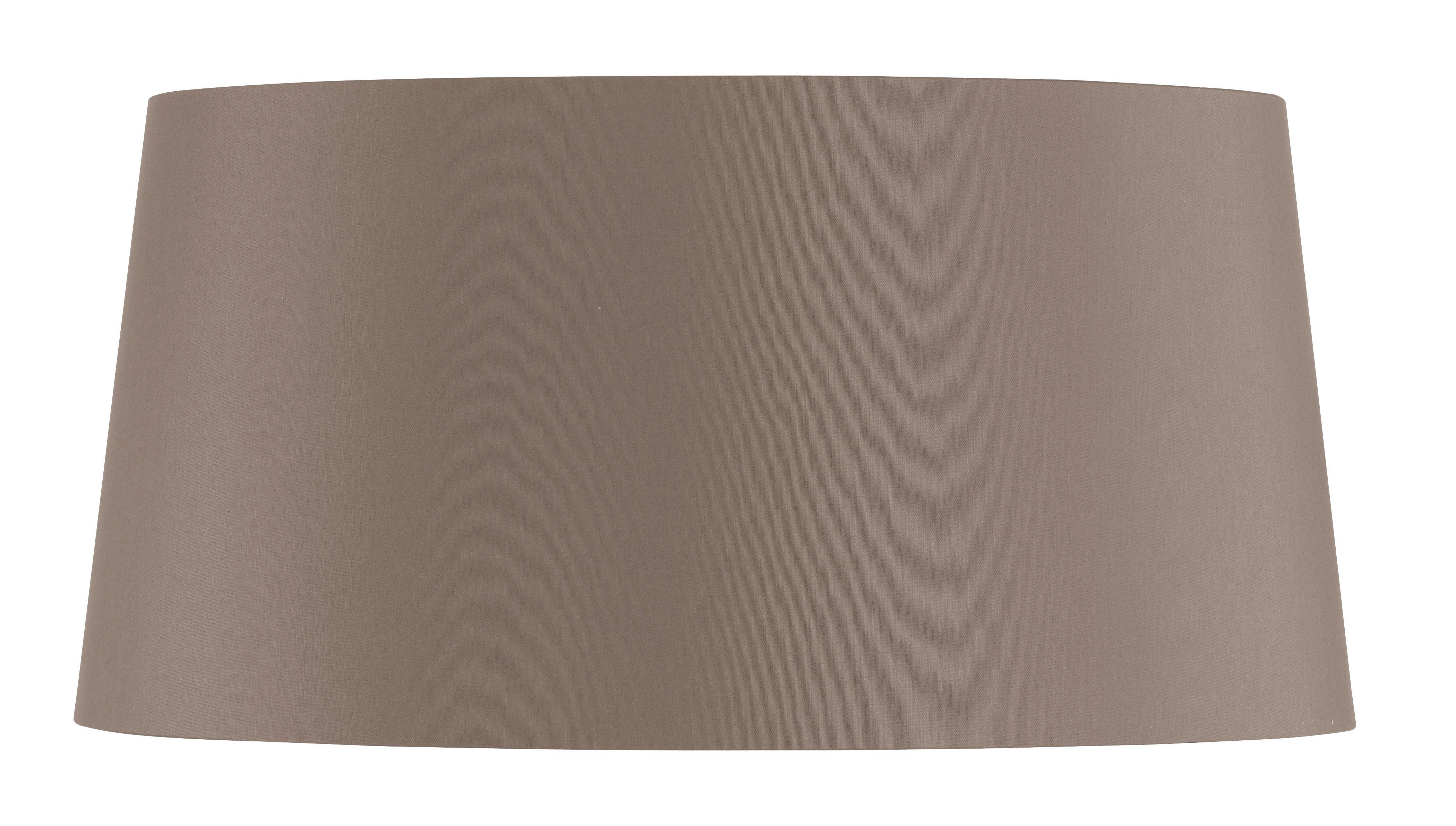 LEUCHTENSCHIRM - Hellbraun, LIFESTYLE, Kunststoff/Weitere Naturmaterialien (45/22cm)