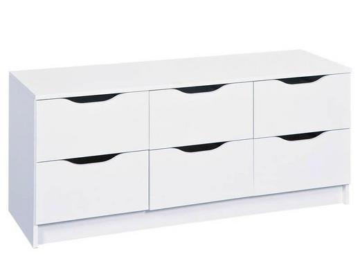 KOMMODE Weiß - Weiß, LIFESTYLE (120/50/40cm) - Carryhome