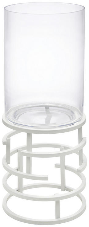LJUSLYKTA - klar/vit, Design, metall/glas (21/54,5cm) - Ambia Home